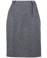 Valentino vintage houndstooth skirt medium 13825