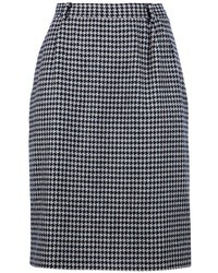 Vintage houndstooth skirt medium 13825