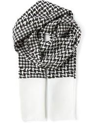 Houndstooth scarf medium 168837