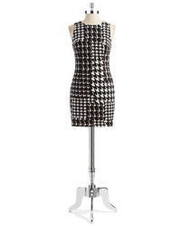 Trina by houndstooth sheath dress medium 128291