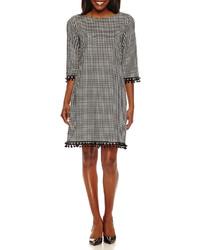 Madison Leigh Madison Leigh Elbow Sleeve Shift Dress