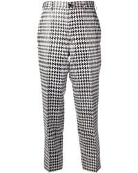Comme des garons houndstooth check trouser medium 31255