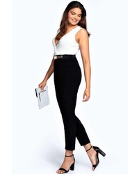 Boohoo Fiona Wrap Front Jumpsuit