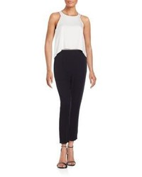 Ella moss layered look jumpsuit medium 874071