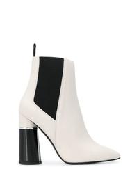 3.1 Phillip Lim Contrast Heel Boots