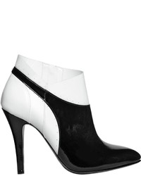 Maison margiela 100mm patent leather ankle boots medium 1158223