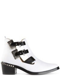Toga Pulla Colour Block Ankle Boot