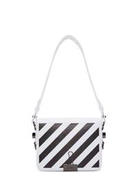 Off-White White Diag Flap Bag