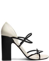 Fabrizio viti round n round leather sandals medium 6372122
