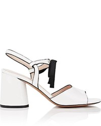 Marc Jacobs Wilde Patent Leather Mary Jane Sandals