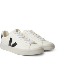 Veja Campo Rubber Trimmed Leather Sneakers