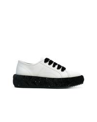 Marco De Vincenzo Glitter Heel Sneakers