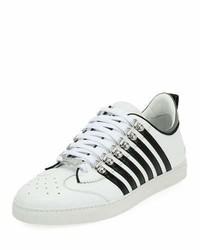 Low top contrast stripe sneakers medium 6976844