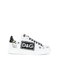 Dolce   Gabbana Portofino Sneakers With Appliqus 65a48b09a83