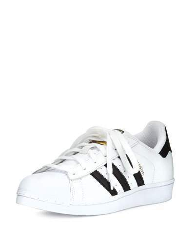 size 40 a405e 8c7a8 ... adidas Superstar Classic Sneakers Blackwhite ...