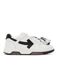 Off-White White And Black Out Of Office Sneakers