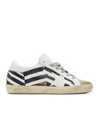 Golden Goose White Flag Sneakers