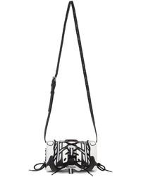 Balenciaga White Black Sneakerhead Phone Holder Pouch