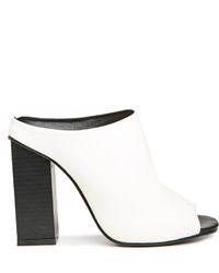 The fifth label mean mule heels in white 6 95 medium 200119