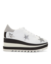 Stella McCartney White Star Elyse Derbys