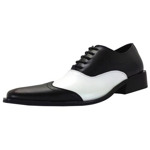 Zota Dress Shoes Oxford Wing Tip Style Leather Black And White | Where To Buy U0026 How To Wear