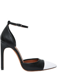 Givenchy 115mm Graphic Line Leather Pumps
