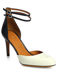 Marc by Marc Jacobs Clean Sexy Leather Ankle Strap Pumps