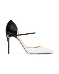 Jennifer Chamandi Eric Two Tone Leather Pumps