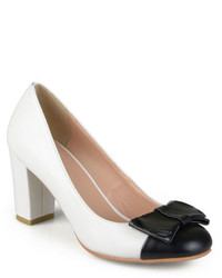Journee Collection Tash Colorblock Pumps