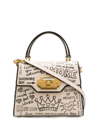 Dolce & Gabbana Welcome Graffiti Logo Tote