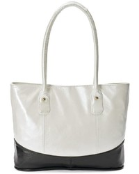 Amerileather casual leather tote medium 862772