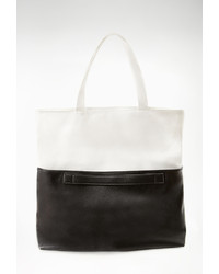 Forever 21 Colorblocked Faux Leather Tote