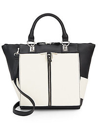 Danielle nicole alexa colorblock faux leather tote medium 340171