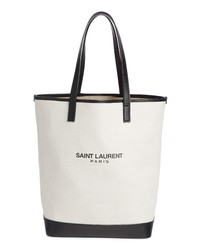 Saint Laurent Teddy Linen Tote