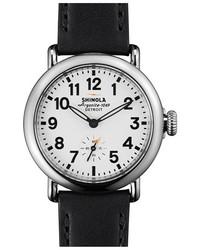 Shinola The Runwell Leather Strap Watch 36mm