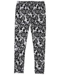 Franki Jack Girls Franki Jack Lace Pattern Leggings