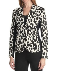 Paperwhite Animal Print Jacket