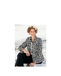 Appleseed's Blackwhite Snow Leopard Jacket