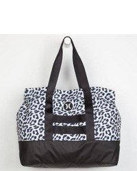 Hurley beach active tote bag leopard one size for 229407435 medium 129408