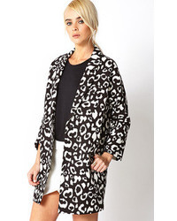 Wild thing leopard trench coat medium 48002