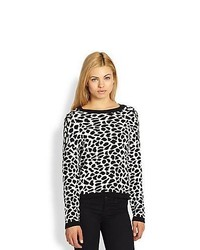 Generation Love Leopard Print Sweater Leopard
