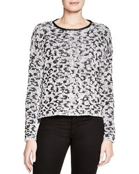Generation Love Leopard Print Sweater 100% Bloomingdales