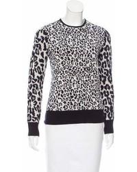 A.L.C. Merino Wool Intarsia Sweater