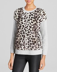 Kate Spade New York Faux Fur Front Pullover