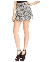 Guess guess leopard print skirt medium 79346
