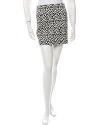 Leopard pattern mini skirt w tags medium 3649536