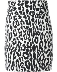 Leopard print mini skirt medium 3649535