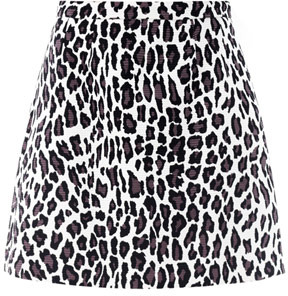 MSGM Leopard Print A Line Skirt | Where to buy & how to wear