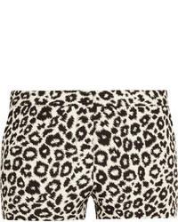 Walter W118 By Baker Rene Leopard Jacquard Shorts