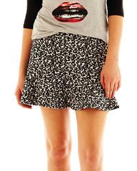 jcpenney Olsenboye Olsenboye Flared Animal Print Miniskirt